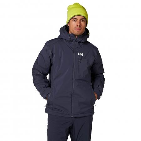 Geaca de ski barbati Helly Hansen Double Diamond Jacket albastru inchis2