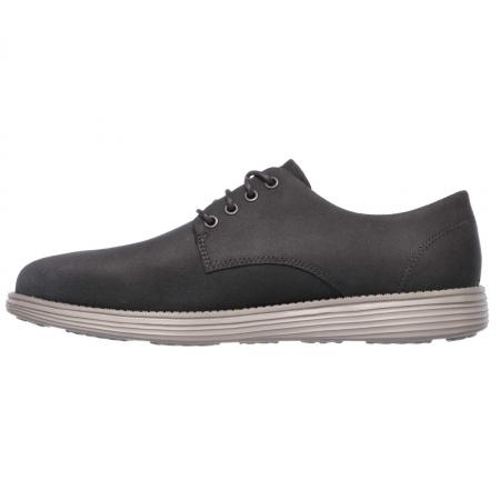 Pantofi casual barbati Skechers Status- Versen bleumarin2