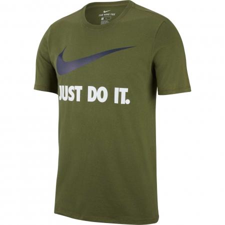 Tricou  barbati Nike  NSW TEE JDI SWOOSH NEW cachi
