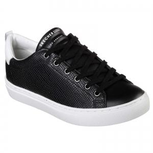Pantofi sport dama Skechers SIDE STREET TEGU negru/alb0