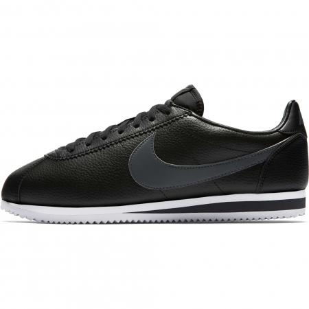 Pantofi sport barbati Nike CLASSIC CORTEZ LEATHER negru/gri0