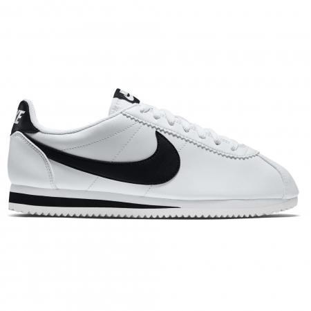 Pantofi sport femei Nike WMNS CLASSIC CORTEZ LEATHER alb/negru