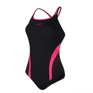 Costum inot femei Speedo Pinnacle negru/roz