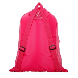 Saculet de plasa pentru accesorii Speedo Deluxe roz;4