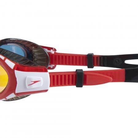 Ochelari inot copii Speedo Futura Biofuse Flex Dual Mirror negru/rosu3
