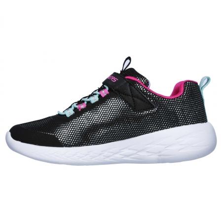 Pantofi sport copii Skechers Go Run 600- Sparkle runner, negru2