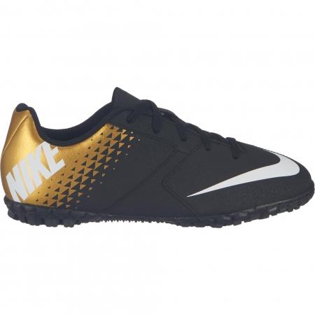 Ghete fotbal copii Nike JR NIKE BOMBA TF negru