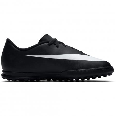 Ghete fotbal copii Nike JR NIKE BRAVATA II TF negru