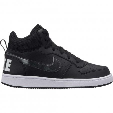 Pantofi sport inalti copii Nike COURT BOROUGH MID (GS) negru