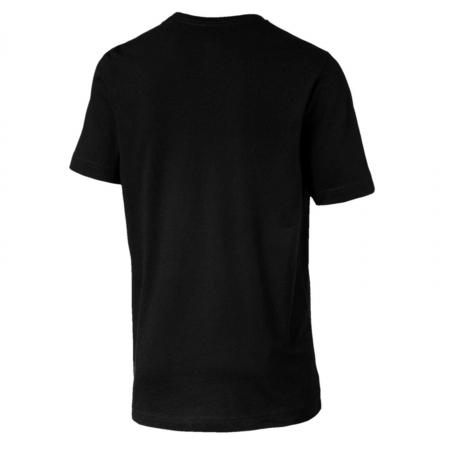Tricou barbati Puma ESS Logo negru1