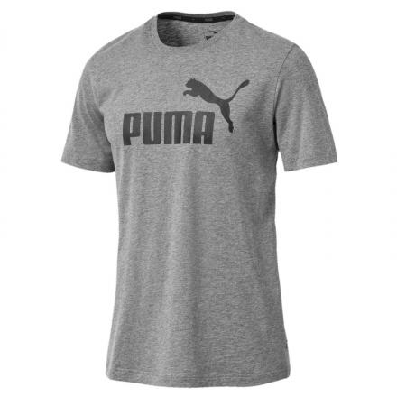 Tricou barbati Puma ESS Logo gri