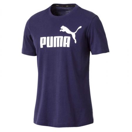 Tricou barbati Puma ESS Logo mov