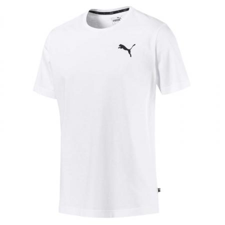 Tricou barbati Puma ESS Small Logo alb