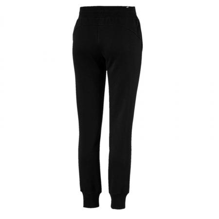 Pantaloni lungi sport femei Puma ESS Sweat  FL cl negru1