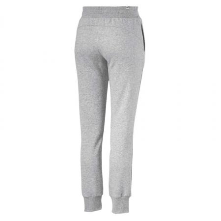 Pantaloni lungi sport femei Puma ESS Sweat  FL cl gri1