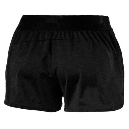 Pantaloni scurti sport femei Puma SOFT SPORT Drapey negru1