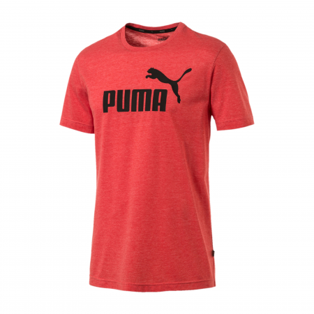Tricou sport barbati Puma ESS+ Heather rosu