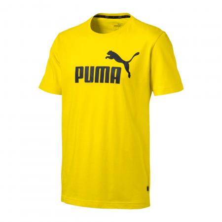 Tricou barbati Puma ESS Logo Tee galben