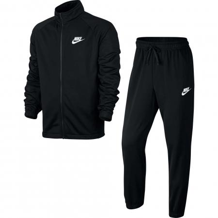 Trening barbati Nike  NSW CE TRK SUIT PK BASIC negru/alb S