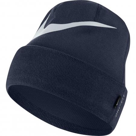 Fes unisex Nike U NK BEANIE SWOOSH CUFFED bleumarin