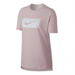 Tricou femei Nike W DROP TAIL SWSH PK roz