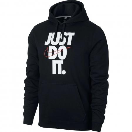 Hanorac cu gluga barbati Nike NSW HBR HOODIE PO FLC JDI negru