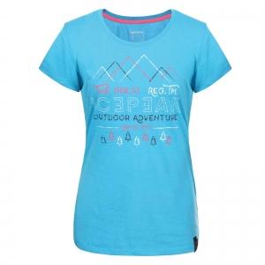 Tricou femei Ice Peak Stacy turcoaz0