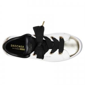 Pantofi sport dama Skechers HI-LITES alb/auriu4