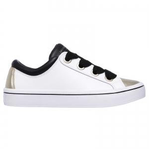 Pantofi sport dama Skechers HI-LITES alb/auriu1