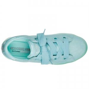 Pantofi sport dama Skechers HI-LITES SUEDE CITY azur4