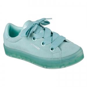 Pantofi sport dama Skechers HI-LITES SUEDE CITY azur0