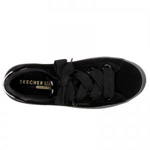 Pantofi sport dama Skechers HI-LITES SUEDE CITY negru4