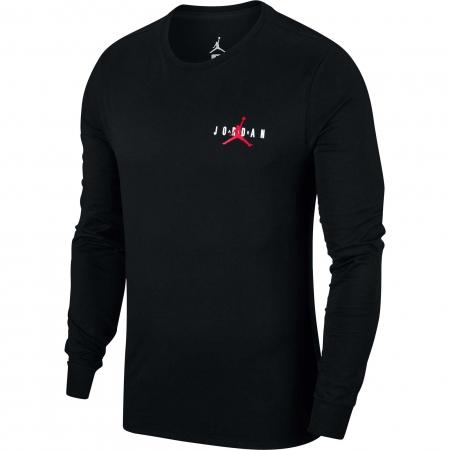 Bluza cu maneca lunga Nike Air Jordan JSW TEE LS JORDAN AIR GX negru