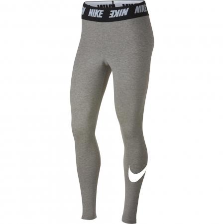 Colanti femei Nike W NSW LGGNG CLUB HW gri