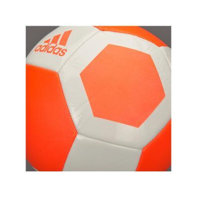 Minge fotbal Adidas Gliderii marimea 5 alb/portocaliu2