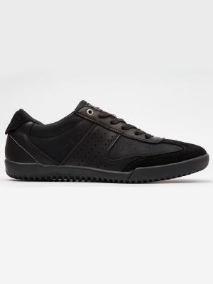 Pantofi sport barbati Brille Low Zen negru2