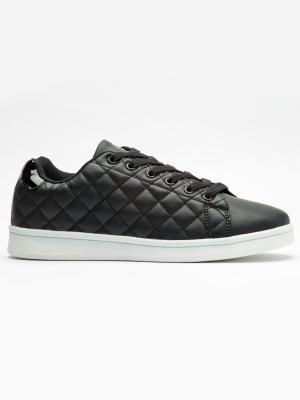 Pantofi sport femei Brille Low Pillow negru2