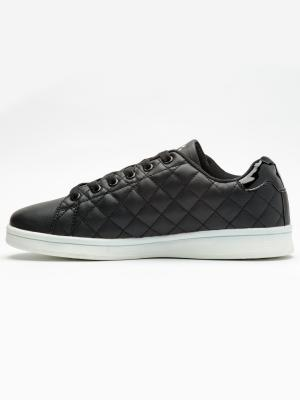 Pantofi sport femei Brille Low Pillow negru3