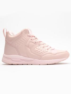 Pantofi sport inalti femei Brille Low Pillow roz1