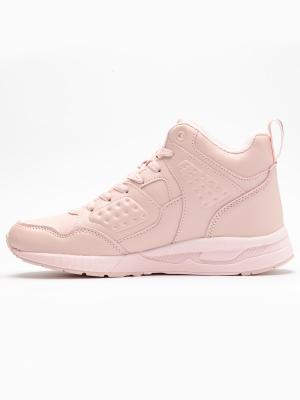 Pantofi sport inalti femei Brille Low Pillow roz2