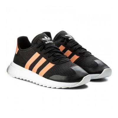 Pantofi sport femei Adidas Originals  FLB W negru/roz6