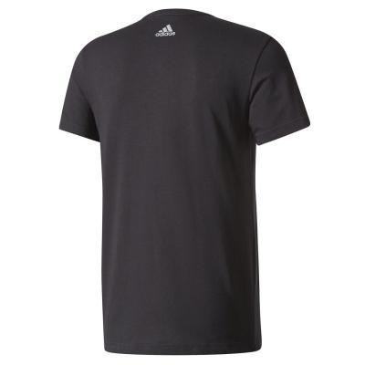 Tricou barbati Adidas LINEAR KNITTED negru1