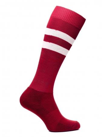 Sosete fotbal unisex BRILLE rosii