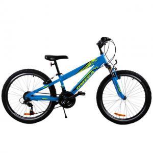 "Bicicleta copii Omega Gerald albastru 24"""