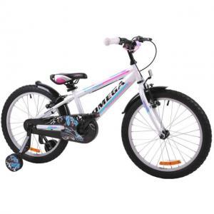 Bicicleta copii Omega Master alb 16