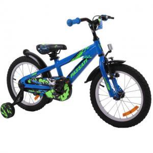 """Bicicleta copii Passati Gerald albastru 16"""" - Resigilat"""