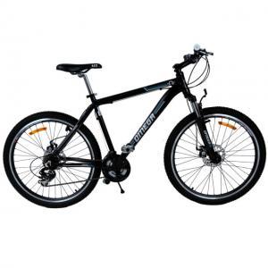 "Bicicleta mountainbike Omega Dominator 26"" negru/albastru"