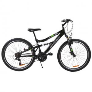 "Bicicleta MTB Passati Magic 20"" negru fullsuspension"