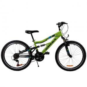 "Bicicleta MTB Passati Magic 20"" verde fullsuspension"