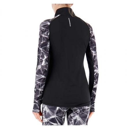 Bluza cu fermoar femei Lotto Xride III Sweat1
